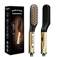 Deals on Lorchar Beard Straightening Brush w/Anti-Scald Functions