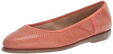 60ad2242d76 Aerosoles Women s Better Yet Ballet Flat Coral Snake 6 ...