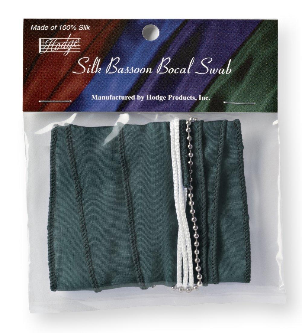 Hodge Silk Bassoon Bocal Swab - Green Hodge Products Inc.