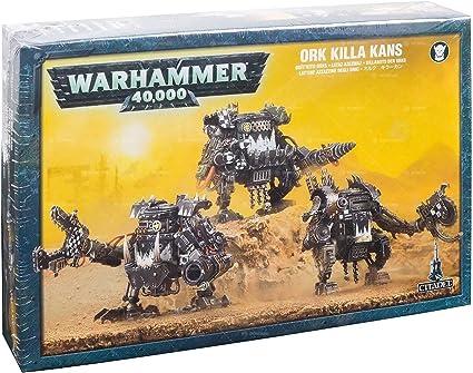 Warhammer 40,000 Ork Killa Kans Bits