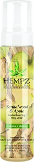 product image for Hempz Sandalwood & Apple Herbal Foaming Body Wash, 8.5 oz.