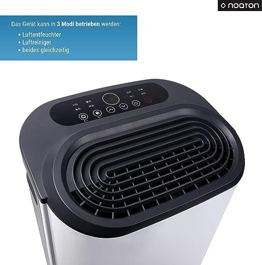 Deshumidificador y purificador de aire Noaton DF 4214 HEPA + 2x ...