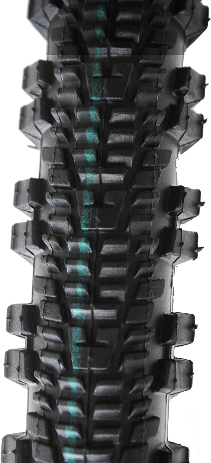 Low Profile Centre Tread Essential IRC 26 x 1.95 Bicycle Bike Replacement Tyre Mountain Bike Black Off-Road Knobbly Shoulder Ammaco