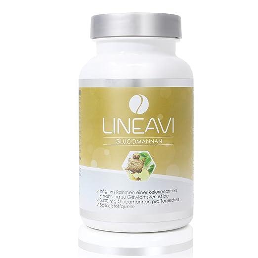 18 opinioni per Glucomannano LINEAVI • 3000 mg di glucomannano • fibra di origine vegetale dalla