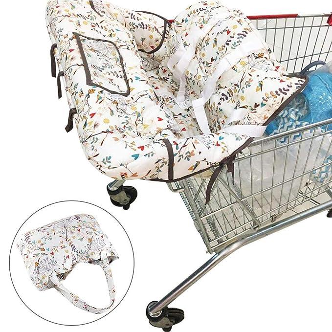 Baby Sicherheit Sitzbezug Baby Einkaufswagen Abdeckung Sitzbezug Stuhlkissen  €