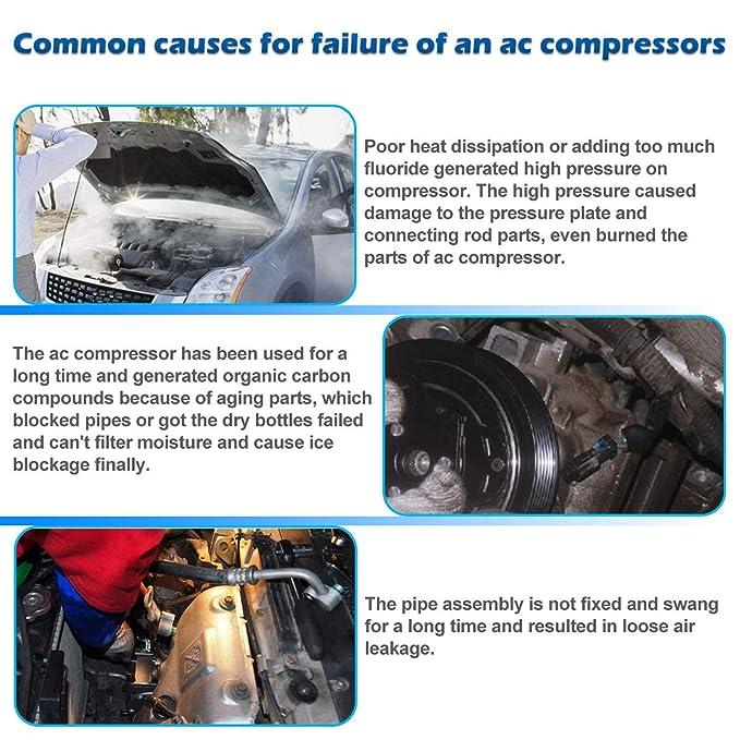 AC Compresor & a/c de embrague para 2004 2005 2006 2007 2008 Acura TSX 2.4L: Amazon.es: Coche y moto