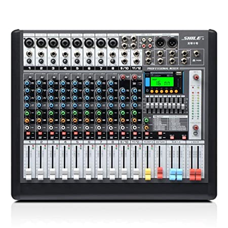 Consola de mezclas de audio Power Mixer profesional de 12 ...