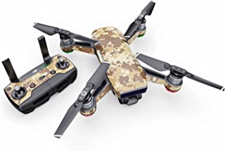 product image for Coyote Camo Decal for Drone DJI Spark Kit - Includes Drone Skin, Controller Skin and 1 Battery Skin