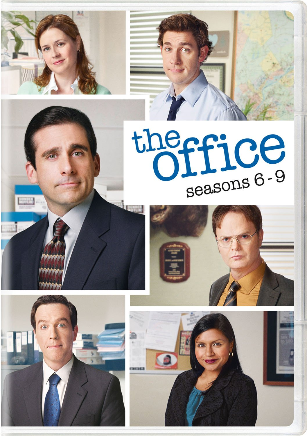 DVD : The Office: Season 6 - 9 (Boxed Set, 20PC)