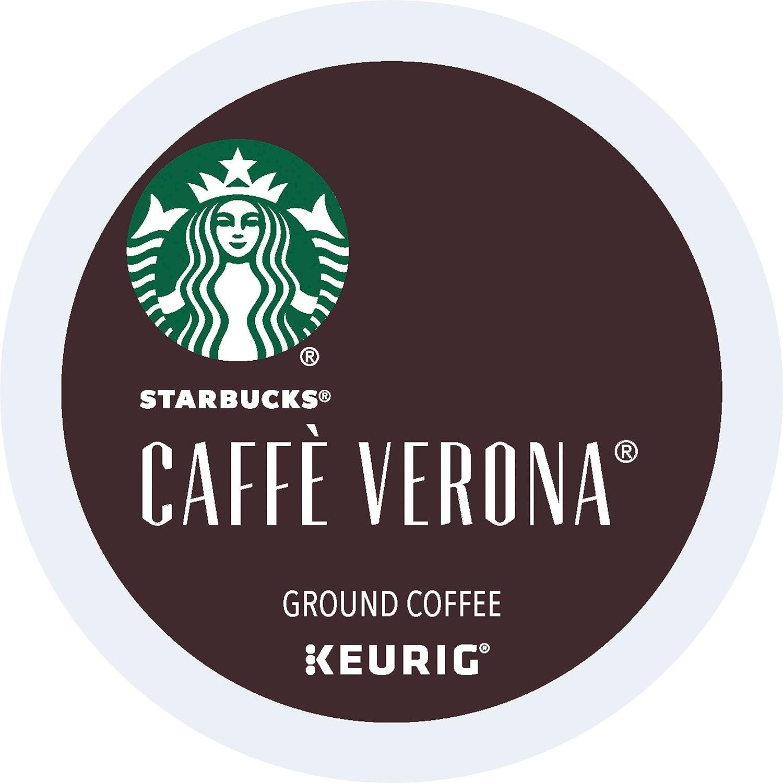 Starbucks Caffe Verona Dark, K-Cup for Keurig Brewers, 24 Count (Packaging May Vary)