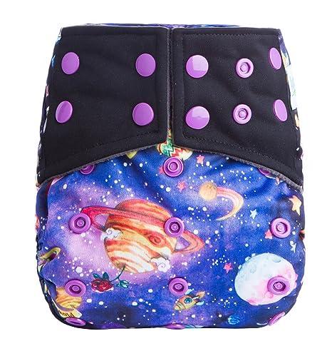 Anan bebé nuevo diseño nadar/impermeable reutilizable lavable bolsillo bolsa para pañales para pañales +