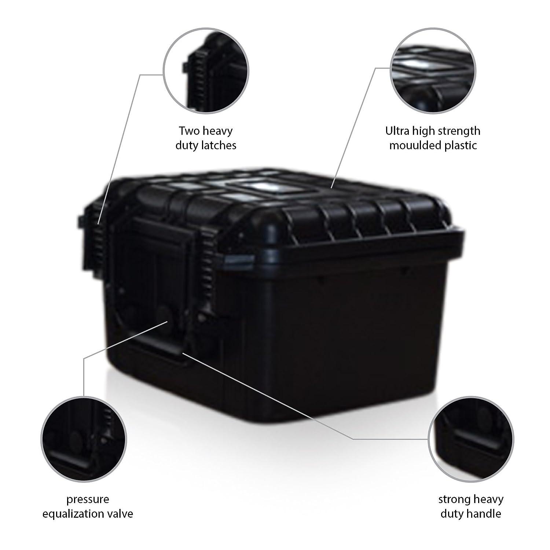 US PROツール防水ハードキャリーフライトケースWatertight写真ツールボックス10.5 by US PROツール B01F95Q1ZS