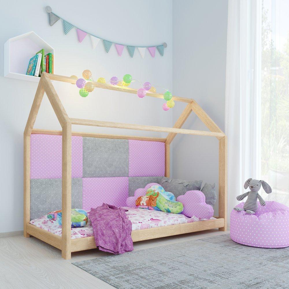 Kinderbett Kinderhaus Bett Kinder Holz Haus Schlafen Spielbett ...