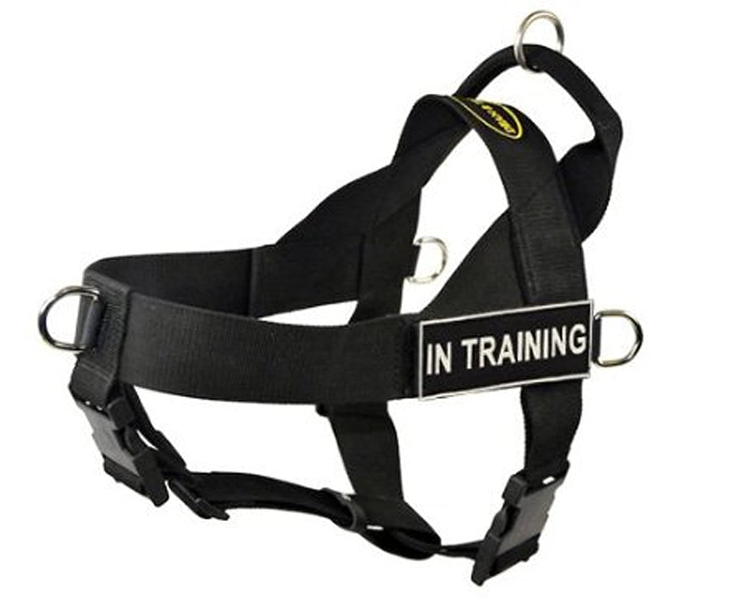 L Dean & Tyler Universal No Pull Dog Harness, In Training, Large, Fits Girth Size  31-Inch to 42-Inch, Black