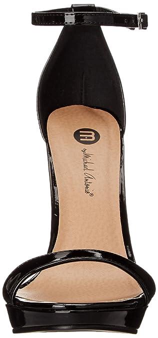 Michael Antonio Womens Lovina Patent Dress Sandal: Amazon.co.uk: Shoes & Bags