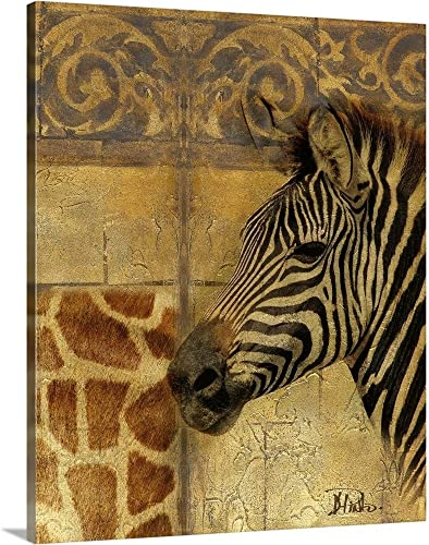 Elegant Safari I Canvas Wall Art Print
