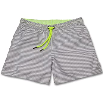5c2baf935c Sunuva Boys Neon Stripe Swim Short-13-14 Yrs Grey: Amazon.co.uk: Clothing