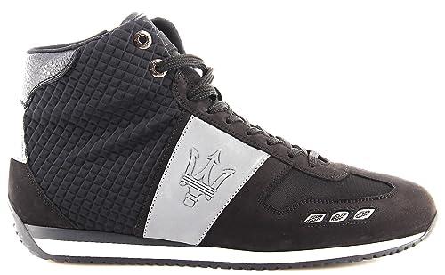 official photos 006e0 f9603 La Martina Scarpe Sneakers Alte Uomo Maserati L4098213 nabuk ...