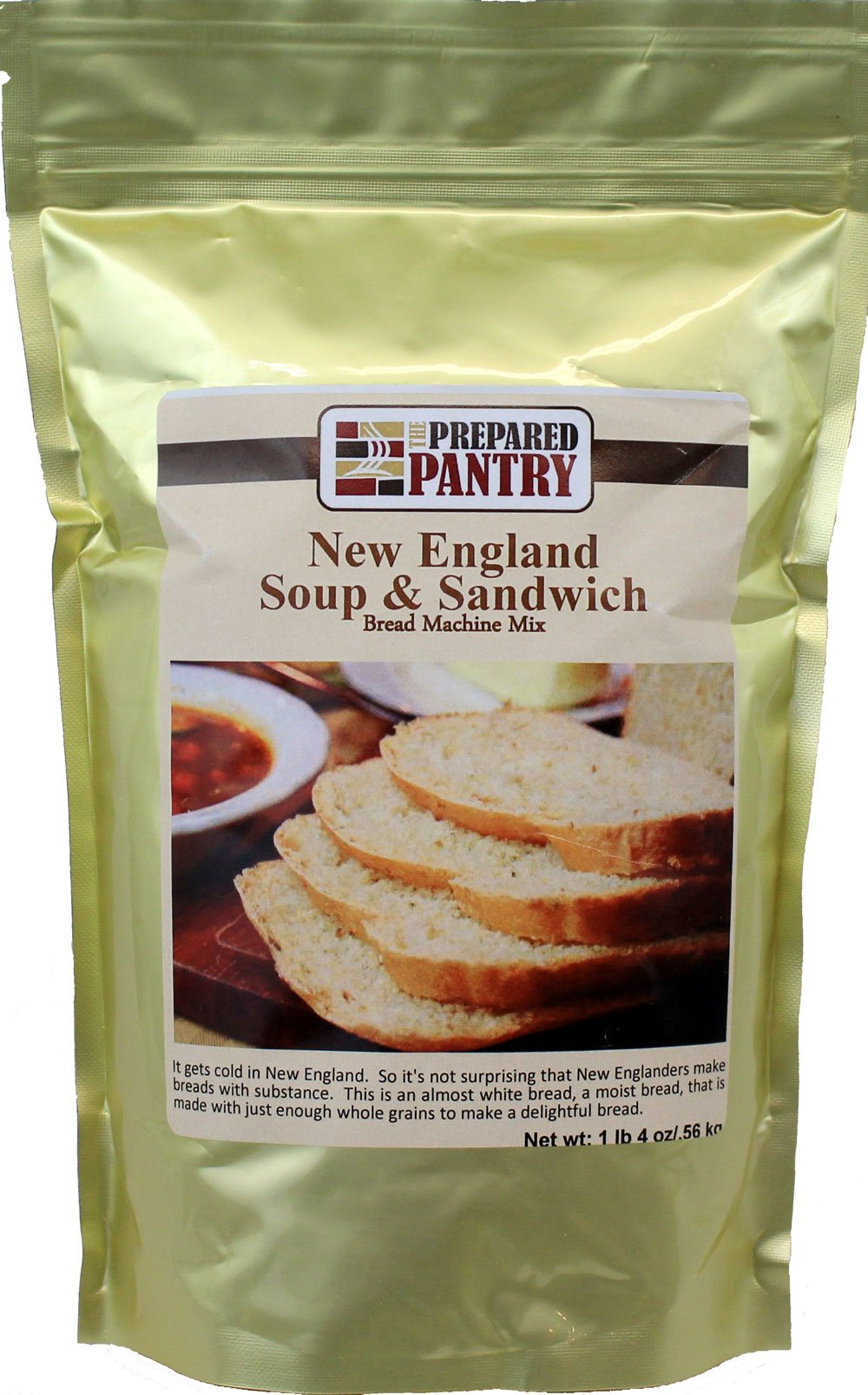 The Prepared Pantry New England Soup and Sandwich Bread Machine Mix, 20 Ounce (Pack of 20)