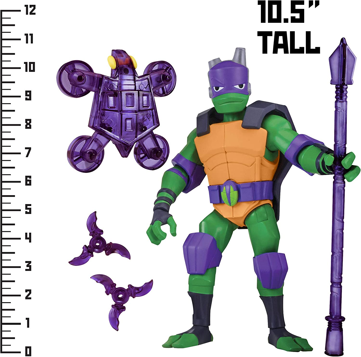Rise of the Teenage Mutant Ninja Turtle Donatello Giant Figure