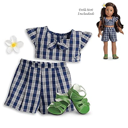 145c5217a7c16 Amazon.com: American Girl Nanea Palaka Outfit for 18