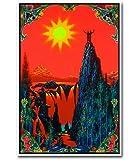 Garden of Eden Blacklight Poster