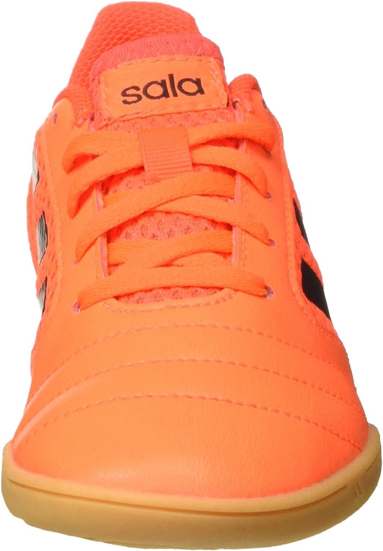 Adidas Jungen Ace 17.4 Sala J Fußballschuhe Mehrfarbig Solar Orange Core Black Solar Red