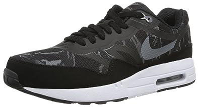 100% authentic cf6bb c7fd6 Nike Men s Air Max 1 PRM Tape Black Cool Grey Black White Running