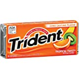 Trident Sugar Free Gum (Tropical Twist, 18-Piece, 12-Pack)
