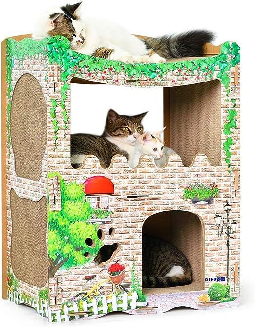 Gato trepador Gato Que Sube Casa del Árbol del Gato del Gato del ...