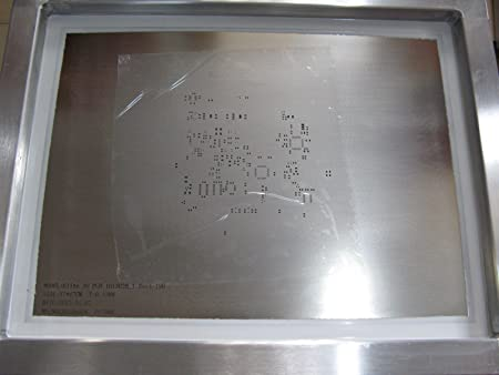 Custom laser cut stencil for PCB(printed circuit board) 370mmx470mm