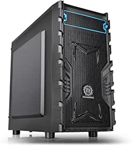Thermaltake Versa H13 - Caja de Ordenador (Micro-Tower, PC, SPCC, 1x 120 mm, Fondo, Micro-ATX, Mini-ITX): Amazon.es: Informática