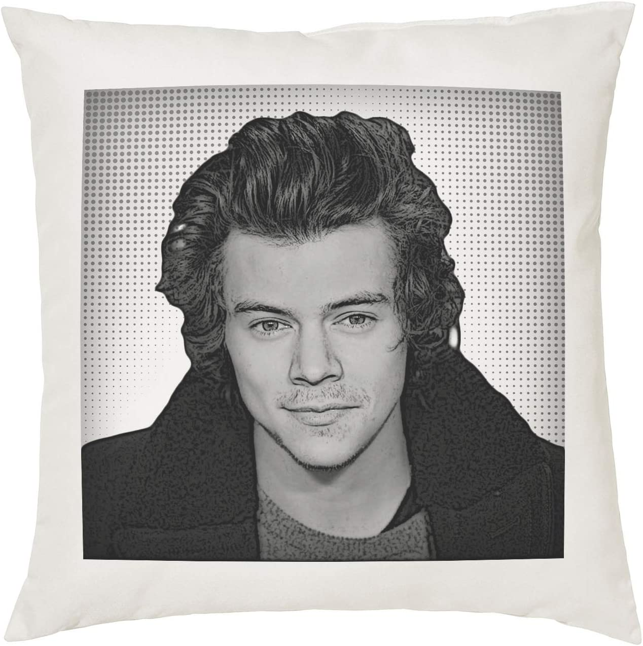 Harry Styles Cushion Pillow Pop Art