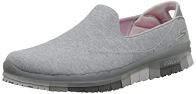 Flex & Go Damen Slipper schwarz