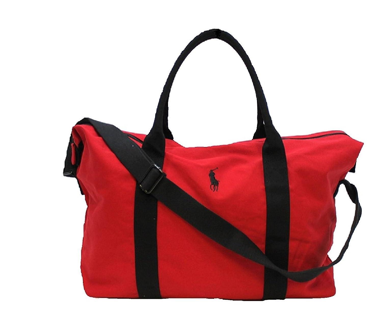 Polo Ralph Lauren Men's Holdall Sports Gym Weekend Bag Blue ...