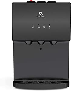 Avalon A12BLK bottleless water cooler, Black Stainless Steel