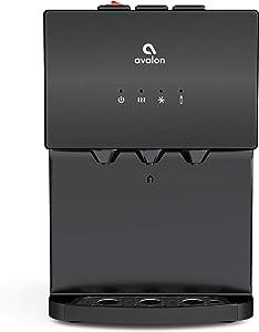 Avalon A12BLK bottleless water cooler, Black Stainless Steel