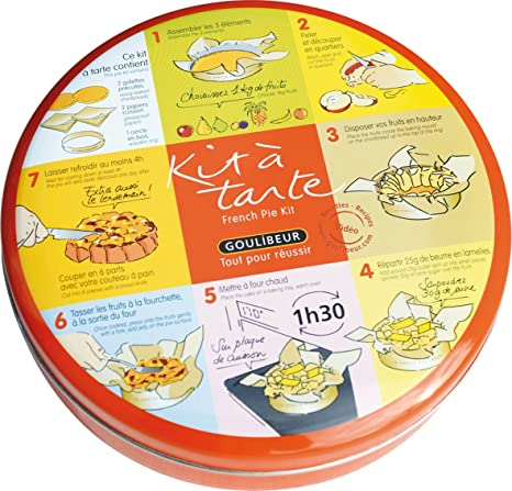 Kuchen Kit A Tarte Kuchen Set Mit 2 Fertigen Kuchenboden Aus