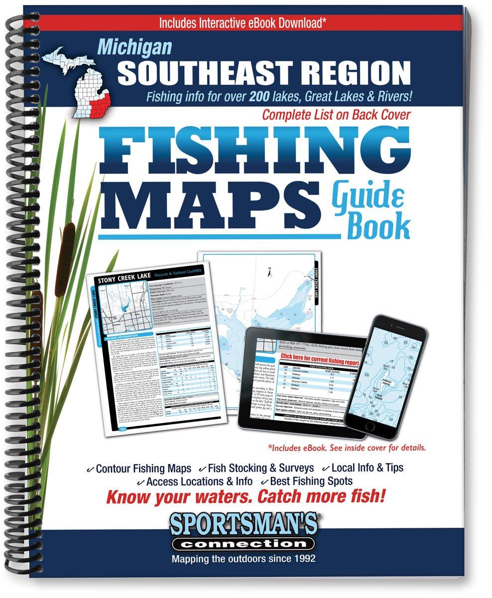Read Online Southeast Michigan Fishing Map Guide PDF