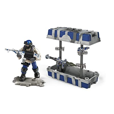 Mega Construx Call of Duty Navy Weapon Crate, Multi: Toys & Games