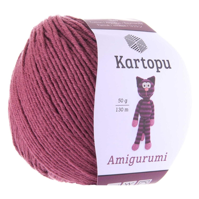 50g Strickgarn Kartopu Amigurumi Strickwolle Häkelgarn ... | 1500x1500