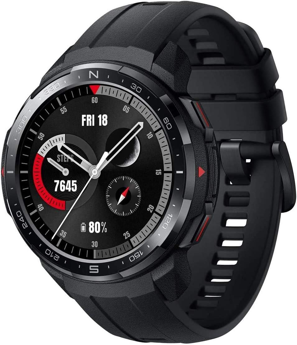 HONOR Watch GS Pro Reloj Inteligente 48mm para Hombres Llamadas Bluetooth (Responder, Rechazar, Colgar una Llamada) Monitor SpO2, 1.39