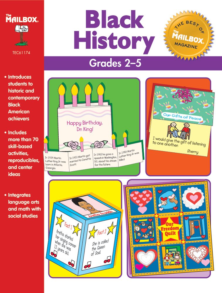 Read Online The Best of THE MAILBOX Black History (Grs. 2-5) pdf