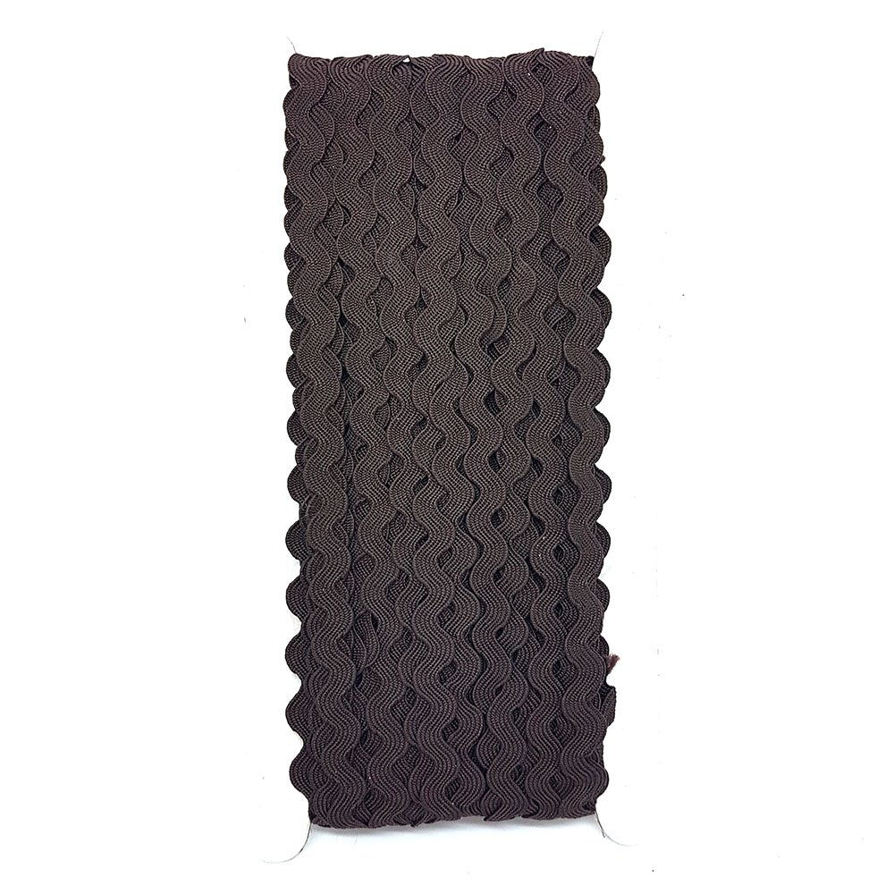 22, 9m rotolo di nastro ondulato cantieri nastro Treccie Ricrac scelta di colori DIY cucitura di accessori soffitta Hot Pink Accessories Attic