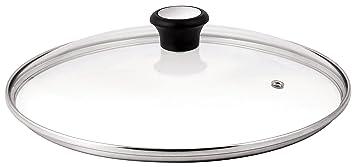 Tefal 280979 Tapa para sartenes, acero inoxidable y plástico, 32 cm
