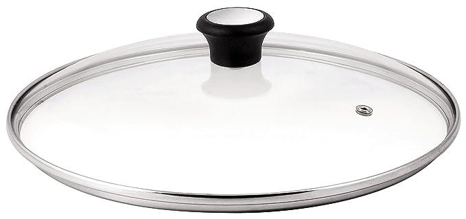 Tefal 280977 Tapa De Cristal, Acero Inoxidable/Cristal, Transparente, 28 Cm, 1 Unidad: Amazon.es: Hogar