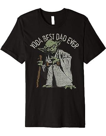 80af72cb Star Wars Yoda Best Dad Ever Graphic T-Shirt