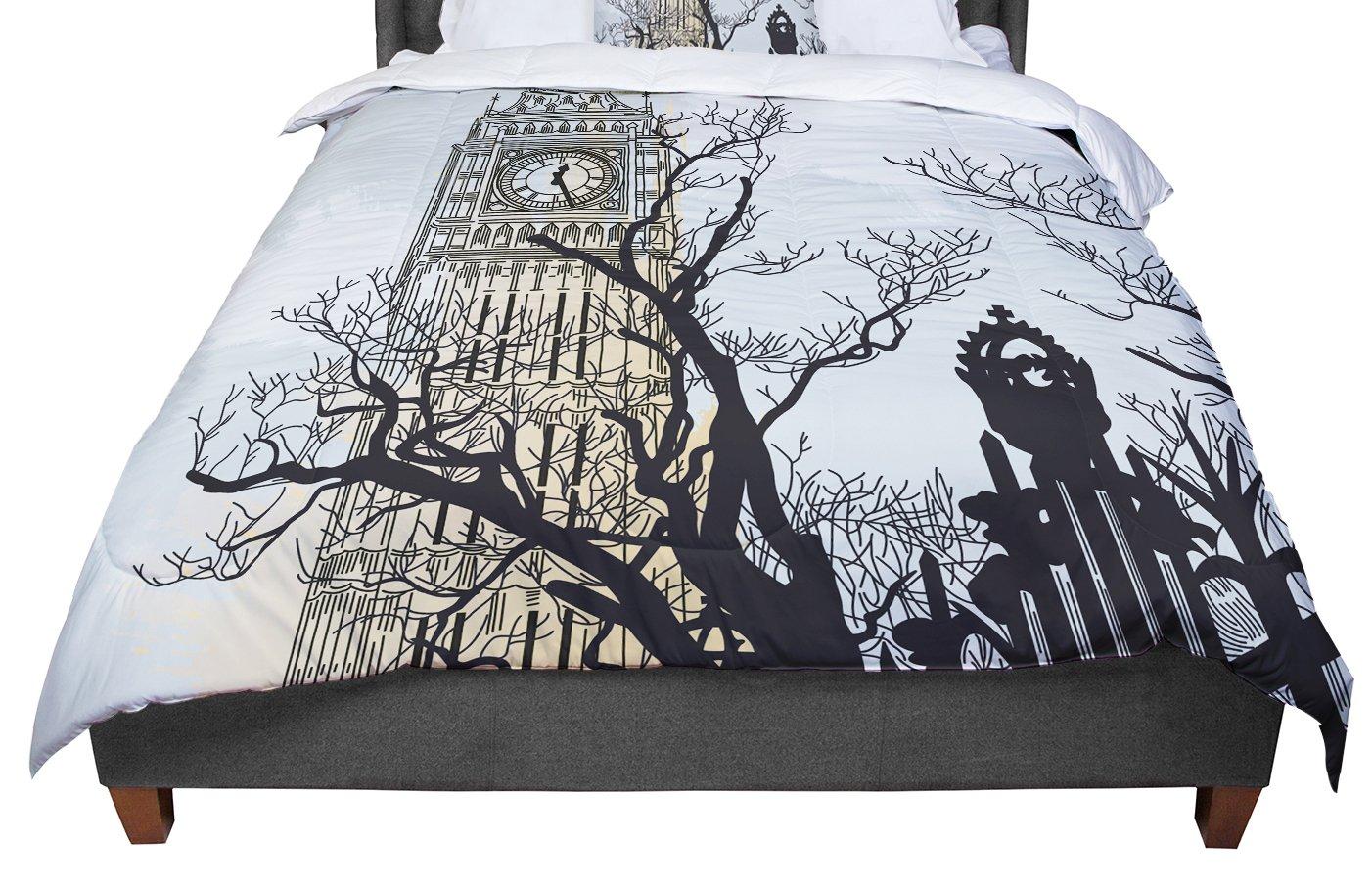 Cal King Comforter KESS InHouse Sam Posnick Big Ben King 104 X 88