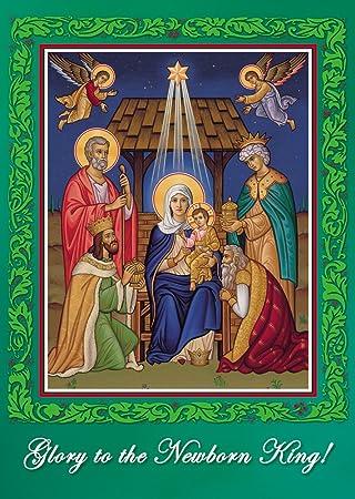 Religious Christmas Cards Uk.Set Of 15 Religious Christmas Cards Amazon Co Uk Office