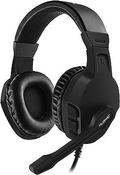 NUBWO Gaming PS4, U3 - Auriculares estéreo con micrófono de ...